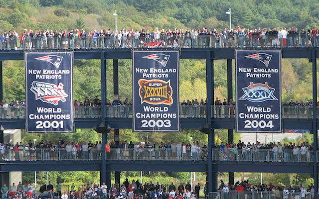 Sneak Peek Heres A First Look At The Patriots Super Bowl Xlix Banner