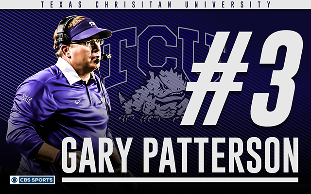It's time to stop underrating Gary Patterson. (CBS Sports Graphic)