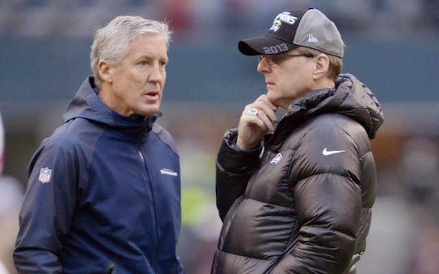 Paul Allen once checked in with Pete Carroll from Antarctica. (USATSI)