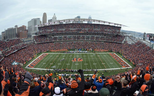 The Bengals might not be playing all of their home games at Paul Brown Stadium. (USATSI)