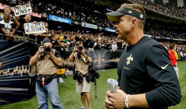 Sean Payton doesn't need your pity. The rest of the NFC South might though. (USATSI)