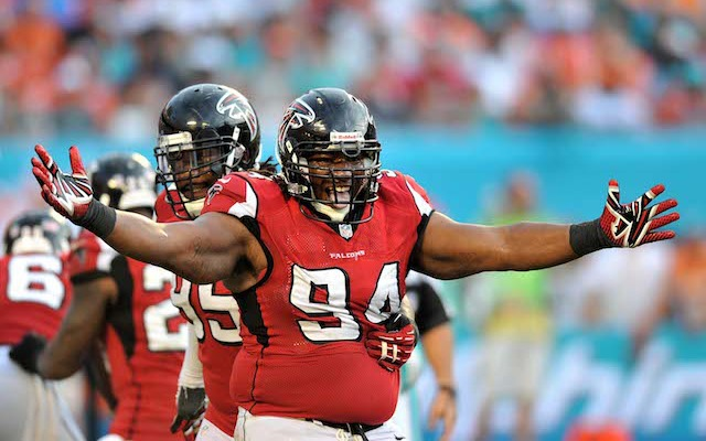 Former first-round pick Peria Jerry is retiring after five seasons with the Falcons. (USATSI)