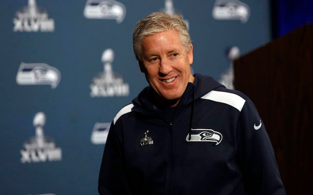 Pete Carroll has been pretty successful against Peyton Manning. (USATSI)
