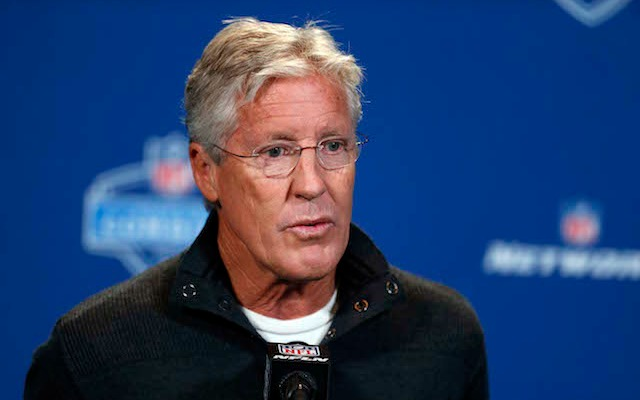 Pete Carroll is impressed by what the Jaguars are doing. (USATSI)