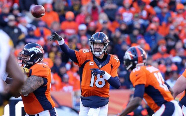 Peyton Manning made some big throws for the Broncos. (USATSI)