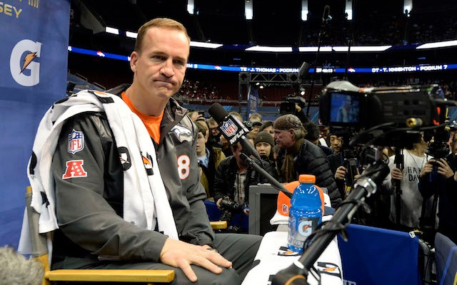 Peyton Manning isn't quite ready to talk about his legacy. (USATSI)