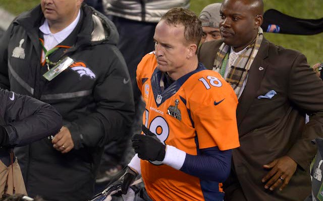 Peyton Manning wasn't happy with the way the 2013 season ended. (USATSI)