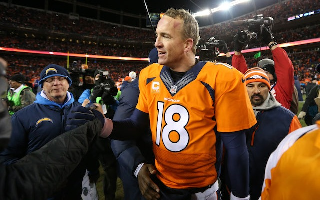 Apparently Peyton Manning is a Bud Light drinker. (USATSI)