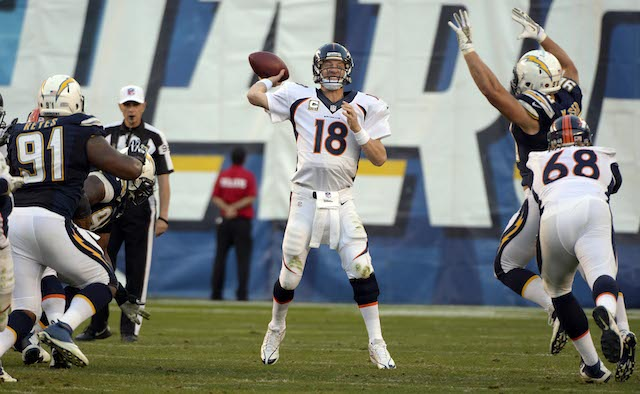 The Broncos were flexed into Sunday night's game. Next season they could be cross-flexed. (USATSI)