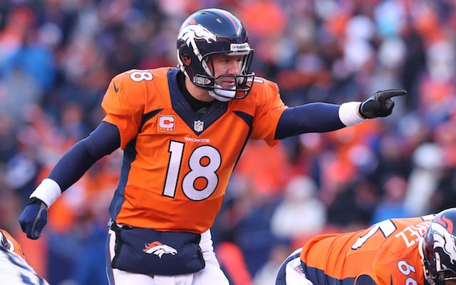 There's a good chance Peyton Manning yelled 'Omaha' during this play. (USATSI)