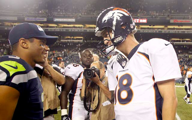 One of these quarterbacks will take home the Lombardi Trophy, the other is Peyton Manning. (USATSI)