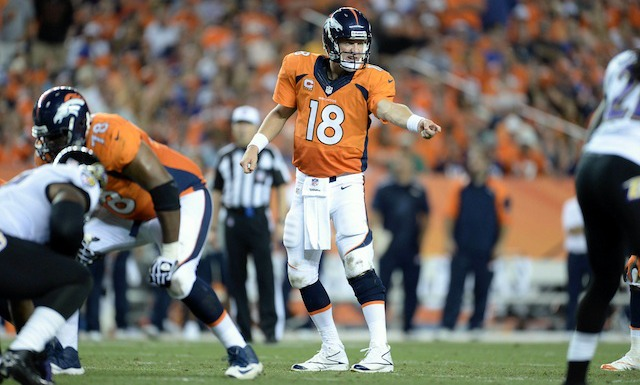 It's really, really early, but Peyton Manning is on track to win his fifth MVP Award. (USATSI)