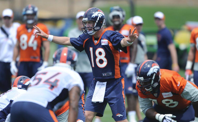 Peyton Manning quietly honored a young Broncos fan who died.