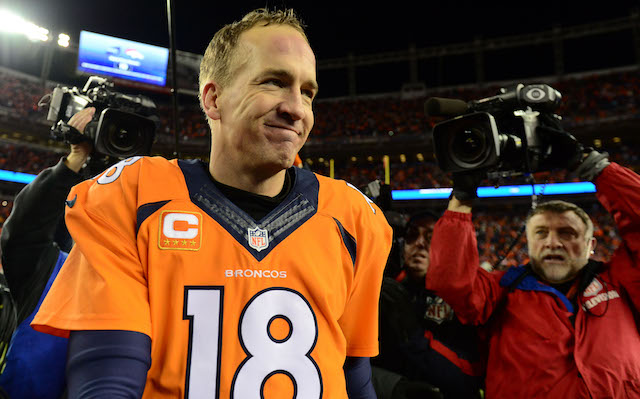 A national women's group wants to see Peyton Manning's sponsors dump him. (USATSI)