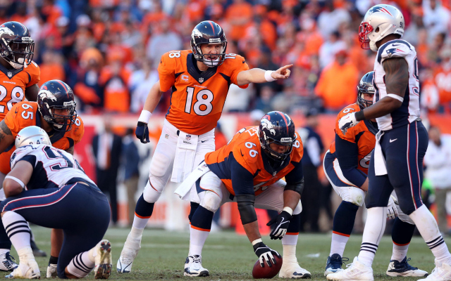 Peyton Manning's 'Omaha' calls netted his charity some money.