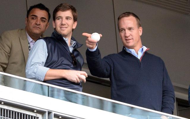 Peyton Manning is sticking with Omaha.