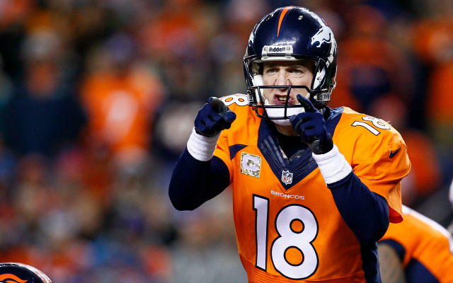 One of Peyton Manning's Papa John's locations was robbed during the Broncos' game.
