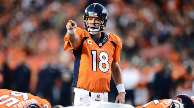 Peyton Manning appears to be getting better somehow.
