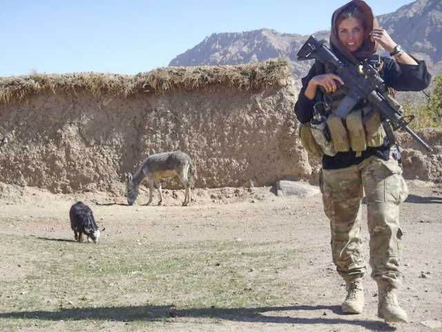 Rachel Washburn has spent time in Philadelphia and Afghanistan. (Rachel Washburn/Facebook)