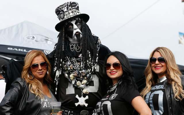 Raiders fans might get to keep watching their team in Oakland. (USATSI)