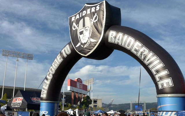 Raiderville is not a popular destination for NFL players. (USATSI)