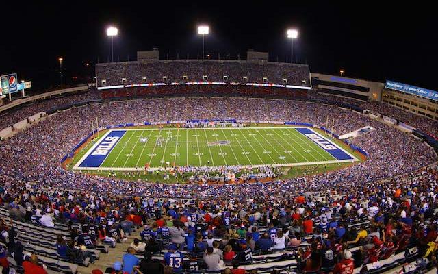 Is Ralph Wilson Stadium good enough for Jon Bon Jovi's ownership group? (USATSI)