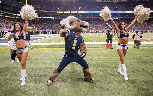 If you want to see Rampage dance with some cheerleaders, it'll only cost you $15. (USATSI)