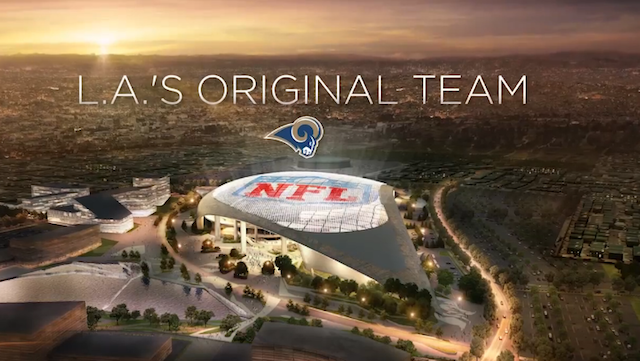 The Rams are getting ready to take over L.A. (TheRams.com)