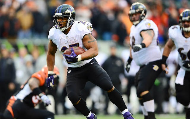 Ray Rice was arrested on Friday in Atlantic City, N.J. (USATSI)