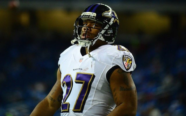 Ray Rice is looking at 3 to 5 years in prison if convicted of aggravated assault. (USATSI)