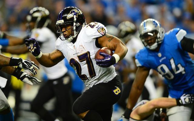 In his sixth season, Ray Rice might already be over halfway through his NFL career. (USATSI)