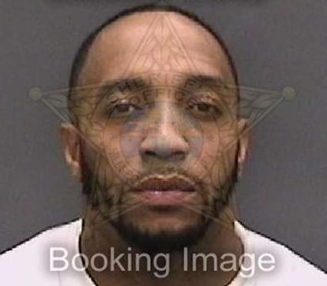 Reche Caldwell's booking photo. (Hillsborough County Sheriff's Office)