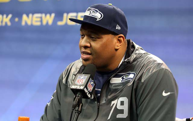 Red Bryant was one of two veterans released by the Seahawks on Friday. (USATSI)