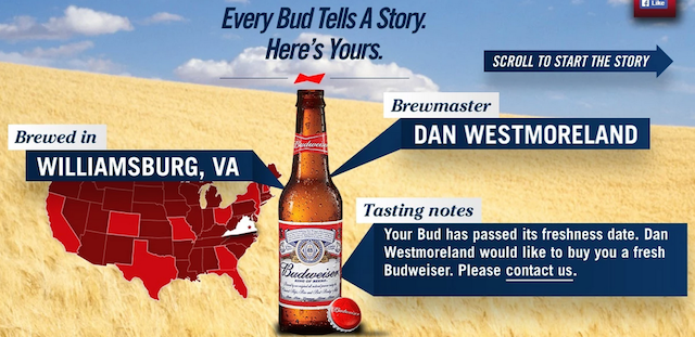 This Bud does not tell a happy story. (Bud vis DC Sports Bog)