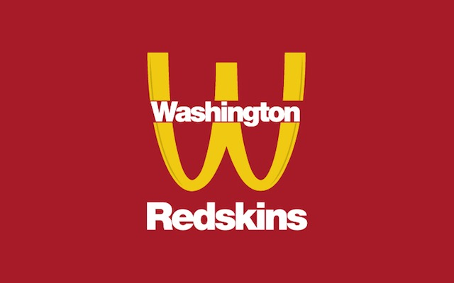 If Dan Snyder's looking for a new logo, here's one idea. (Design by Ryan K. Fishman)