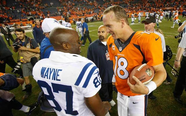 Reggie Wayne is revealing Peyton Manning's secrets. (USATSI)