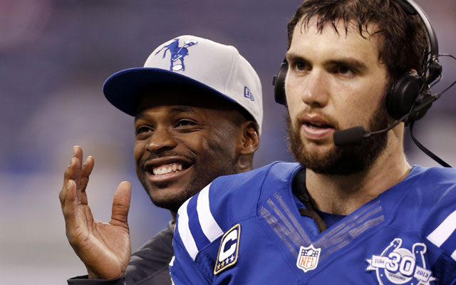 Reggie Wayne says he's 'ahead of schedule.'