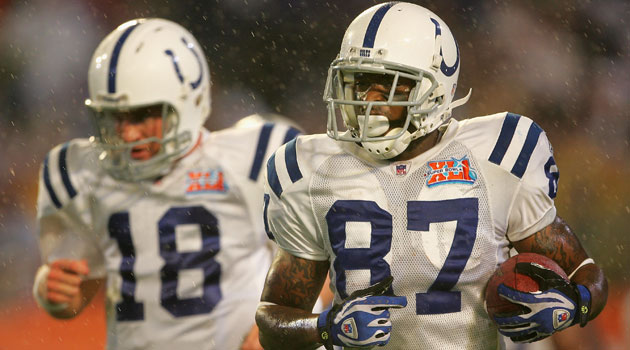Reggie Wayne is only the ninth player to reach 1,000 catches. (USATSI)