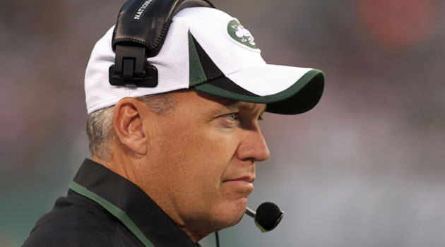 Rex Ryan says Jets will have a top-five defense because of 'my history.'