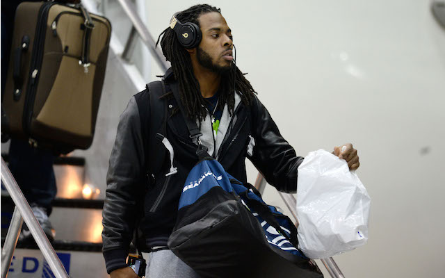 Richard Sherman won't be able to wear Beats on game day anymore. (USATSI)