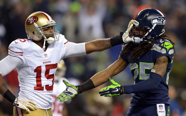 Richard Sherman and Michael Crabtree are BFFs.