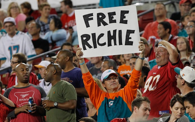 The first step to 'Free Richie' has been taken. (USATSI)