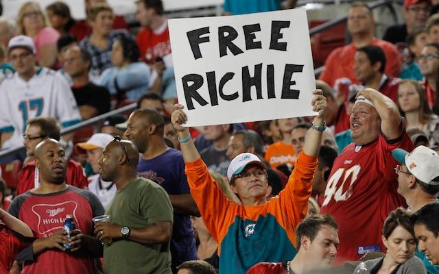 'Free Richie' won't be happening in 2013. (USATSI)