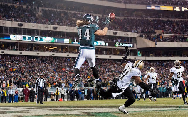 Riley Cooper is expected to sign a multi-year deal with the Eagles. (USATSI)