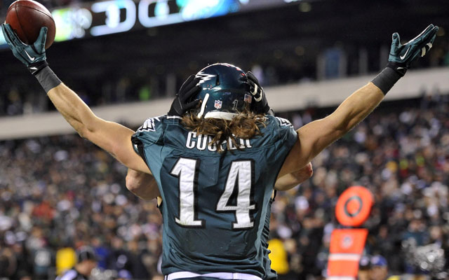 Riley Cooper landed a big new deal on Thursday.