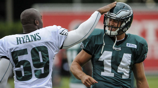 Riley Cooper returned to Eagles camp and appeared remorseful.