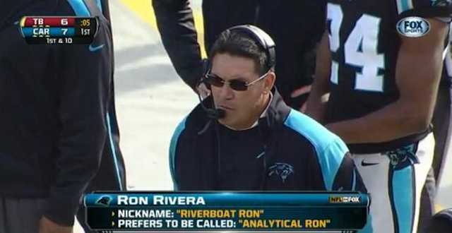 Analytical Ron definitely isn't as catchy as Riverboat Ron. (Fox/NFL)