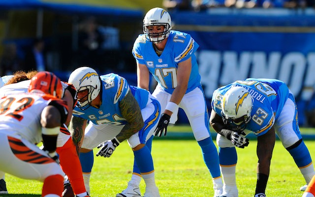 The Chargers Week 13 game against the Bengals is the only that's been blacked out this season. (USATSI)