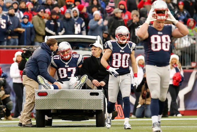 Can the Patriots win without Rob Gronkowski? (USATSI)
