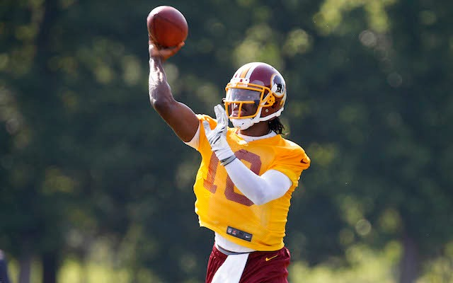 Robert Griffin is playing like it's 2012. (USATSI)
